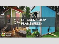 61 DIY Chicken Coop Plans That Are Easy to Build 100% Free