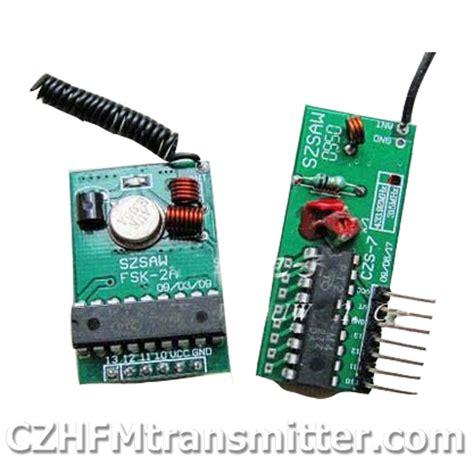 wireless transceiver receiver modules remote control