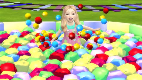 Sims 4 Custom Content Download : Star Ball Pit for ...