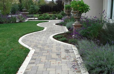 pavers for walkways ideas pavers outdoor spaces pinterest