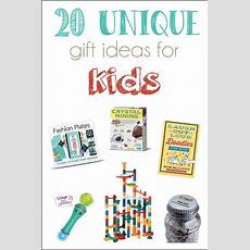 20 Unique Gift Ideas For Kids And A Giveaway!  Cutesy Crafts