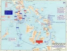 Map Leyte Island Philippines