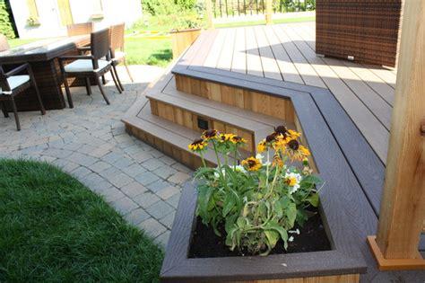 patio deck design 174 traditional deck