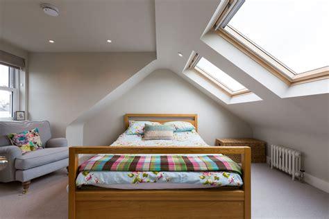 Dachausbau Gauben Ideen by Dormer Window Loft Conversion With Skylights In South West