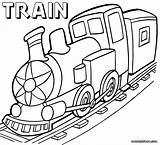 Train Coloring Pages sketch template