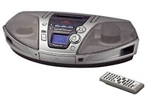 panasonic rx es29 portable stereo cd mp3 system with cassette radio dual voltage
