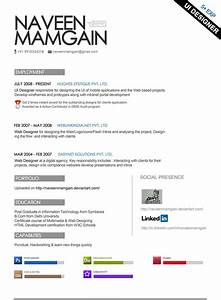 blog personal marius creative cv With creative professional resume