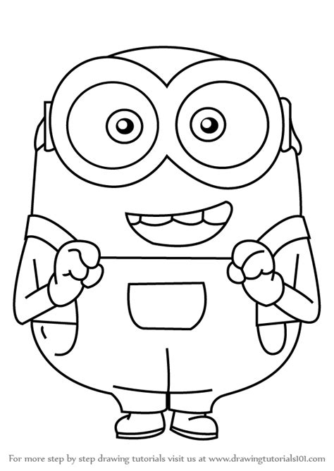 learn   draw bob  minions minions step  step