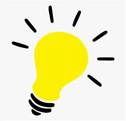 Bulb Lightbulb Clipart Idea Transparent Cartoon Netclipart