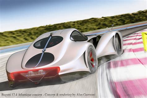 Future Cars Bugatti by Bugatti 12 4 Atlantique Concept Car