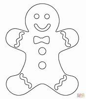 hd wallpapers gingerbread man coloring pages for kids - Gingerbread Man Coloring Pages