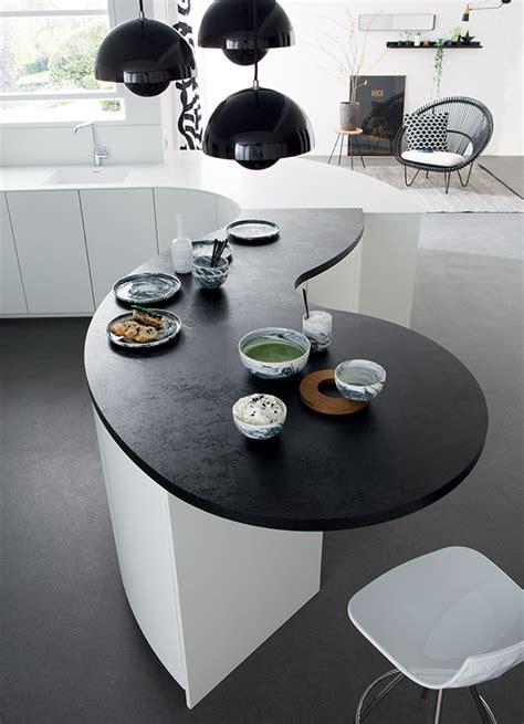 table de cuisine sur mesure le galbe design et convivial mobalpa