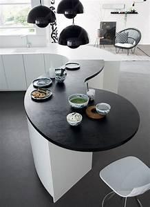 Plans De Travail Sur Mesure : les meubles galb s design et conviviaux mobalpa ~ Melissatoandfro.com Idées de Décoration