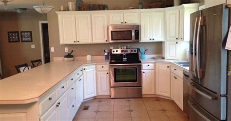 what paint finish to use on kitchen cabinets general finishes milk paint kitchen makeover antique 2239