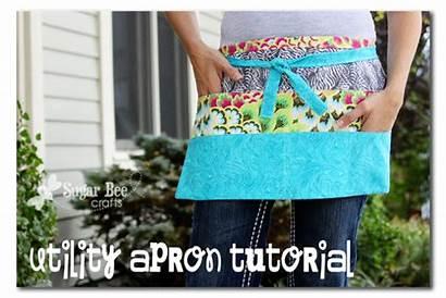 Apron Utility Craft Tutorial Crafts Pattern Aprons