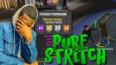 Pure Stretch Four Demigod Build Nba First Time Using