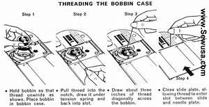Singer 353 Genie Sewing Machine Threading Diagram