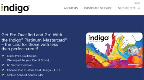 The credit limit that you are assigned upon approval cannot be increased. Indigo Credit Card Login | Indigo Platinum Master Card