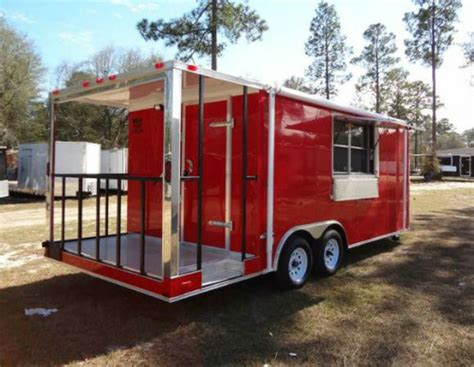 bbq trailer with porch bbq concession trailer trailerocity