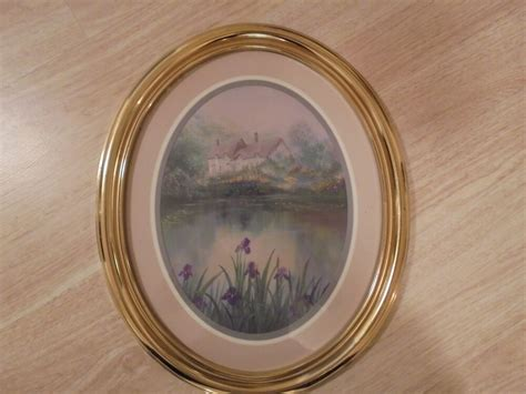 Home Interior Oval Pictures : Beautiful Home Interior Picture Oval Gold Resin Frame