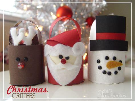 christmas treat bucket critters tutorial kiki company