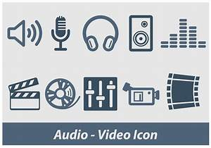 Audio And Video Vector Icon - Download Free Vector Art ...