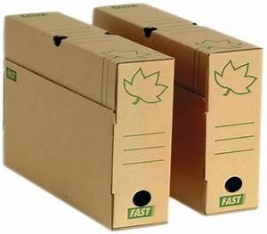 Boite De Classement Carton : bo te d 39 archivage carton ondul marron fas ~ Teatrodelosmanantiales.com Idées de Décoration
