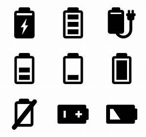 Battery Level Icons