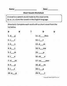 10 Best Images of Letter Phonics Short O Worksheets ...