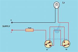 Staircase Wiring Circuit Diagram  U0026 Working