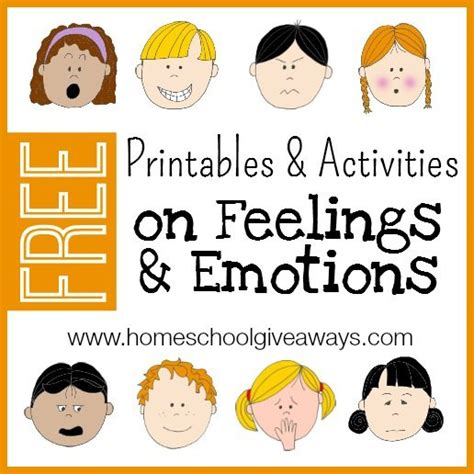free printables and activities on feelings and emotions 668 | Feelings and Emotions 1