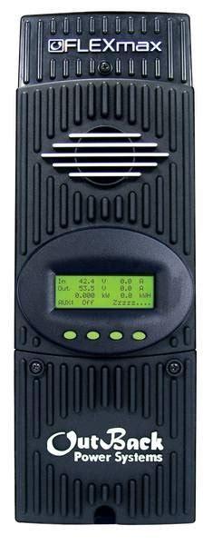 Контроллер заряда flexmax mppt 150 в 60 а 1224364860 в производства outback модель flexmax 60