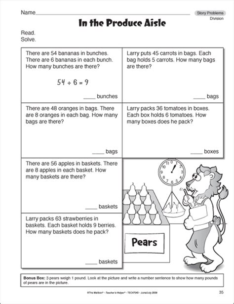 grade math exercises images frompo