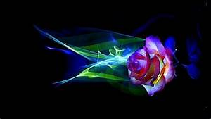 Download 3D Neon Flowers HD Wallpaper for Android - Appszoom
