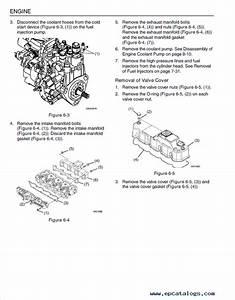 Jcb Yanmar 3tnv 4tnv Series Industrial Engines Service