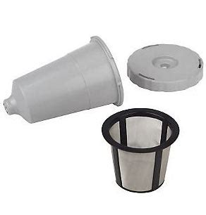 Make your favorite coffee or tea in 3 easy steps! K-Cup Replacement Coffee Filter Set $4.95