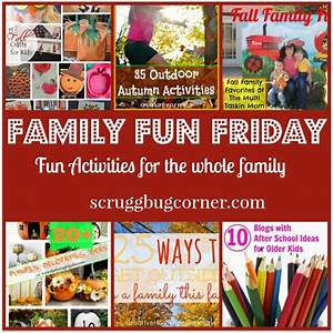Fun Freebies and Outdoor Fall Activities at Family Fun Friday!