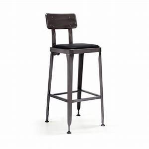 Chaise De Bar Industriel : tabouret de bar vintage maison design ~ Teatrodelosmanantiales.com Idées de Décoration
