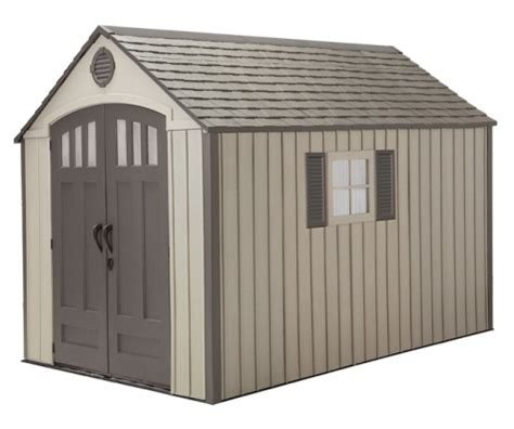 Lifetime 8x12 Storage Shed by Shedfor Outdoor Storage Sheds Plastic Resin