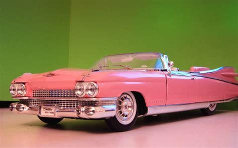 pink convertible cars classic cadillac wallpaper