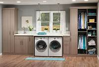 cabinets for laundry room Laundry Room Cabinet Accessories: Innovate Home Org ...
