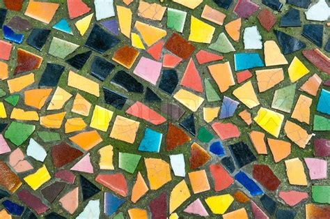 colorful of mosaic tiles stock image colourbox