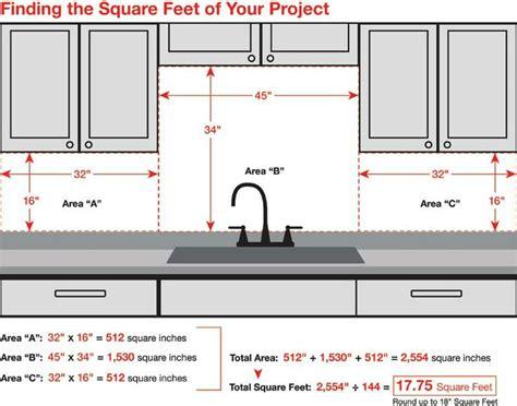 kitchen tiles size best 25 kitchen backsplash ideas on 3356
