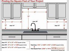How Many Square Feet of Backsplash Do You Need? Kitchen