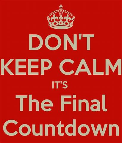 Party Calm Keep Last Don Countdown Final