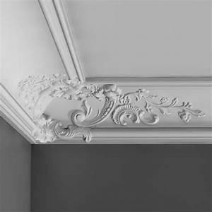 Corniche Plafond Platre : corniche murale d corative plafond luxxus orac decor c338b ~ Edinachiropracticcenter.com Idées de Décoration