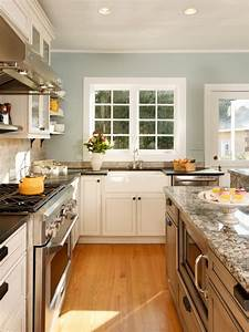 Quotmodernquot country kitchen for Kitchen colors with white cabinets with scottish wall art