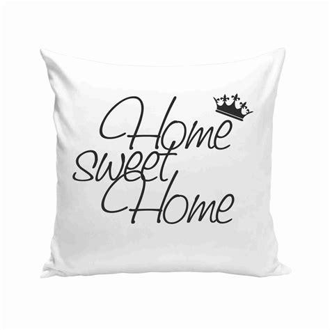 Kissen Home Sweet Home by Dekokissen Home Sweet Home