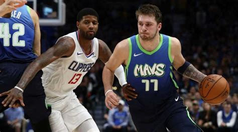 Clippers show off 'scary' defense against Luka Doncic ...