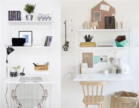 bureau mural design 20 inspirations pour un petit bureau joli place